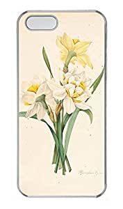 iPhone 5 5S Case nature flower colorful 13 PC Custom iPhone 5 5S Case Cover Transparent