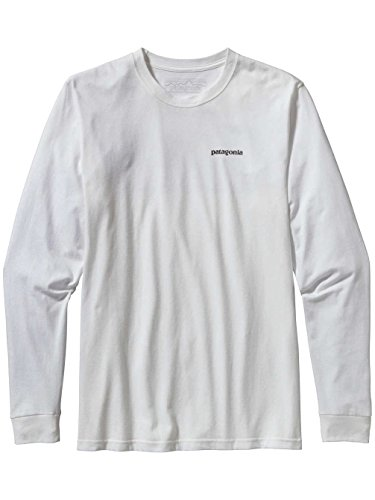 patagonia-mens-l-s-p-6-logo-cotton-t-shirt-white-l