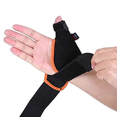 1Pcs Medical Thumb Spica Splint Brace Wrist Support Stabiliser For Sprain Arthritis wrist band Wristbands for Events Estimated Price £11.95 -