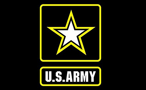 SSK US Army Star Outdoor Flag - Large 3' x 5', Weather-Resistant Polyester