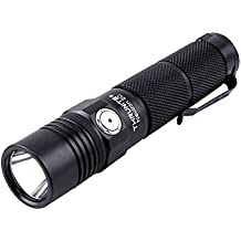 ThruNite Neutron 2C V3 Micro-USB Chargeable LED Flashlight CREE XP-L V6 LED Max 1100 lumens with Firefly, Turbo, Strobe and Self-define Modes Battery Included