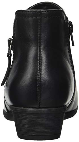 Bootie Rockport Ankle Leather Carly Women's Black Boot qErSERzx
