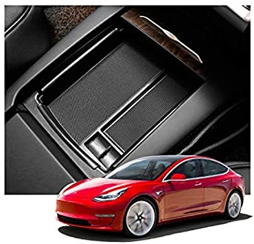 For Tesla Model X//S Storage Box Replacement Case Interior Inner Accessories