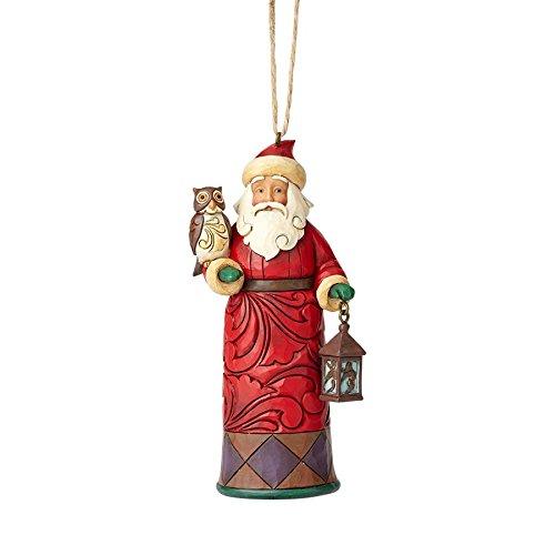 Enesco Jim Shore Hwc Ho Santa With Lantern - Ho Jim