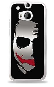 Batman's Joker HTC One (M8) White Hardshell Case
