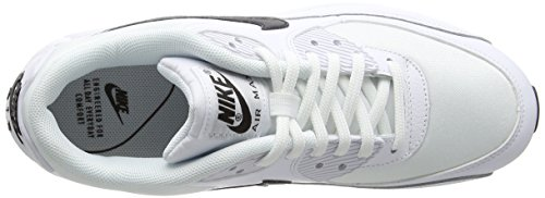 NIKE Bianco Air White 90 Max Running Donna Scarpe 131 Black wZ46qw