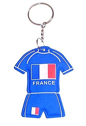 Llavero, diseño de camiseta de Francia: Amazon.es: Juguetes ...