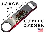 California State Flag Speed Bottle Opener Heavy