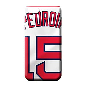 iphone 6 normal Slim Slim Fit Cases Covers Protector For phone mobile phone carrying skins boston red sox mlb baseball