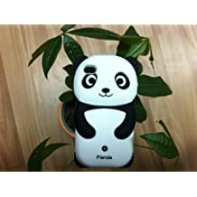 Dc Lovely Panda 3D Soft Shell Case For Iphone 4/4S - Black