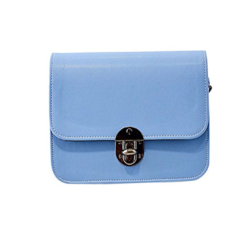 New Fashion Leather Handbag Messenger Adjustable Girl Blue Malloom® Lovely Small Mini Shoulder Bag qHdqC