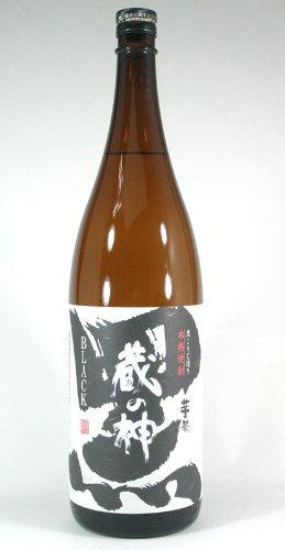山元酒造 芋焼酎 黒麹 蔵の神 25度 1800ml
