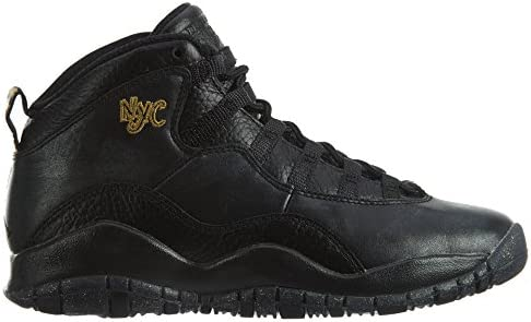 buy best sleek best wholesaler Nike Jordan Kids Air Jordan 10 Retro Bg Black/Black/Drk Grey ...