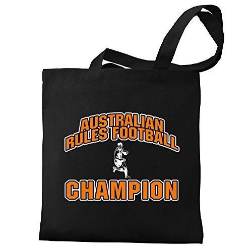 Tote Rules Rules Australian Eddany Eddany Football Australian Football Canvas champion Bag champion Zw6nvx