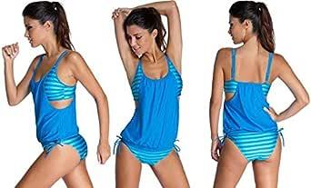 Blue Tankinis For Women