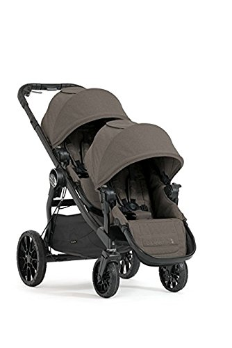 Baby Jogger 2017 City Select LUX Double Stroller – New Model Taupe