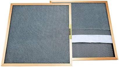 CARTER - MERV 8 - HVAC & Ofenfilter - waschbar, elektrostatisch, hohe Staubaufnahmekapazität 20x23x1