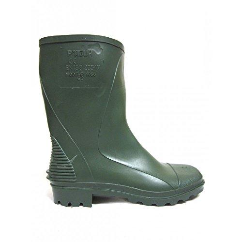 Panter 310051313–Chaussures montantes monoc. Basse Vert 1066–cE- taille: 44