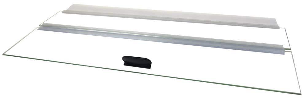 H2Pro 30'' Glass Canopy 20 Long/29 Gallon Aquarium Fish Tank (29.21 x 11.69 x 0.16in) by H2Pro