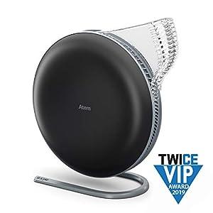 IQAir Atem Desk Personal Air Purifier (HyperHEPA Filter, Allergies, Pets, Asthma, Pollen, Dust; Swiss Made) (Atem (Black))