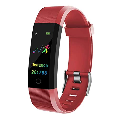 ANYIKE Fitness Watch for Kids Women Men, Activity Tracker with Step Counter Calorie Counter Sleep Monitor, Call/SMS…