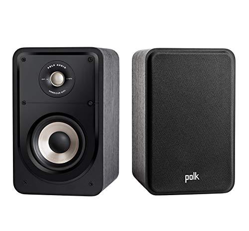 Polk Audio S15E Signature Polk Audio Signature S15 S – Altavoces de estantería, Negro Negro