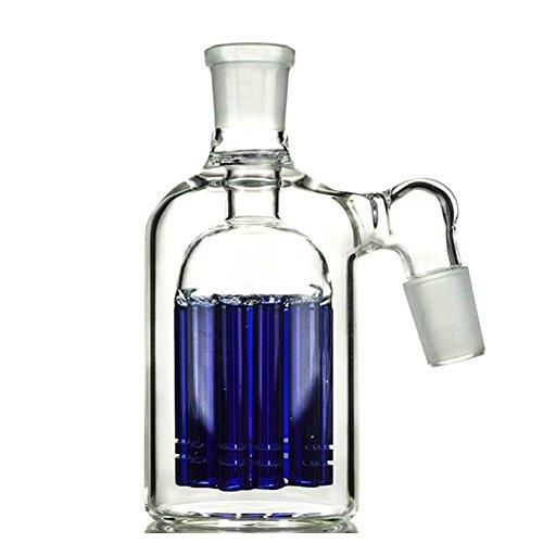45 Degree 18mm Glass (Blue) (Ash Catcher)
