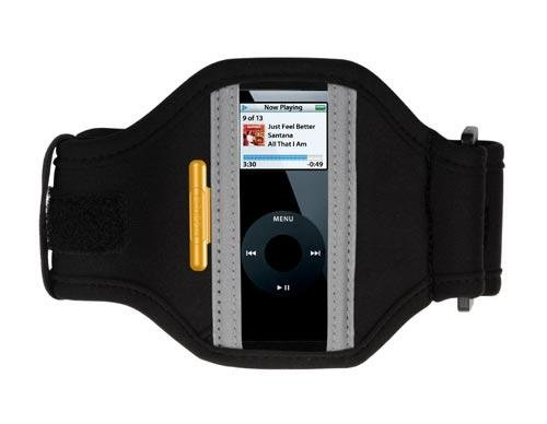 Griffin Tempo Sport Armband for iPod nano 1G, 2G (Black)