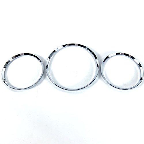 - BAR Autotech  for Mercedes Benz W163 ML Chrome Gauge Ring Cluster Dashboard Rim