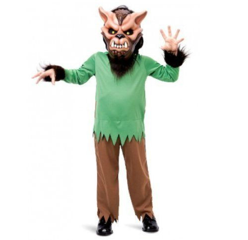 CHILDRENS 3-4Y TODDLER WEREWOLF HALLOWEEN FANCY DRESS COSTUME WOLF OUTFIT 175166 by Hendbrandt (Werewolf Outfits Halloween)