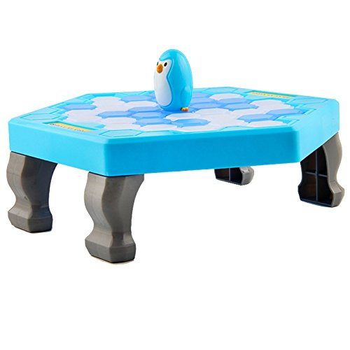 - Kennedy Save Penguin Crashed Ice Puzzle Table Games Knock Ice Cubes Block Balance Board Game Puzzle Table Knock Block
