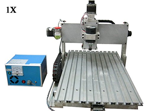 110v Mini CNC Router Engraving Machine Cutting Machine 3020T 3th Axis Carving Tools Artwork Milling Woodworking