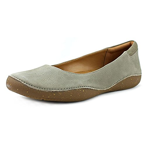 CLARKS Artisan Autumn Sun Women US 6 Green Flats