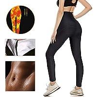 LOFFU Women sauna suits for weight loss Slimming Neoprene Pants Hot Thermo Sweat Leggings