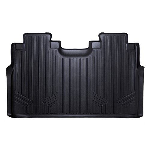 MAX LINER B0167 Custom Fit Floor Mats 2nd Liner Black for 2015-2019 Ford F-150 SuperCrew with 1st Row Bucket Seats