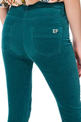 Donna Jeans 86e2 06i Pj Franchi Petrolio Pant Elisabetta qTntR7