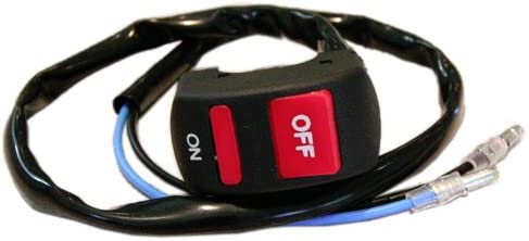 K/&S Technologies 12-0090 Black Racers Tether Engine Kill Switch