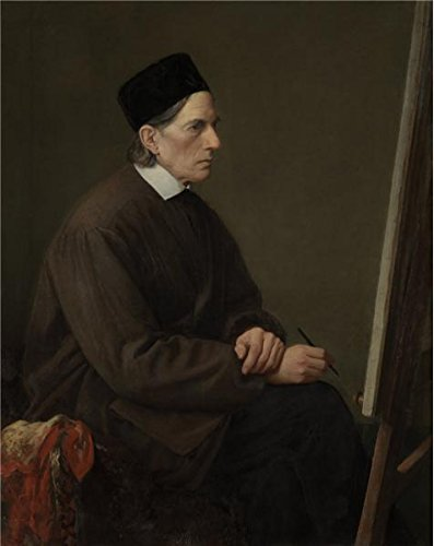 Oil Painting 'Karl Hofmann - Johann Friedrich Overbeck' Printing On High Quality Polyster Canvas , 12x15 Inch / 30x38 Cm ,the Best Hallway Gallery Art And Home Gallery Art And Gifts Is This High Resolution Art Decorative Prints On Canvas