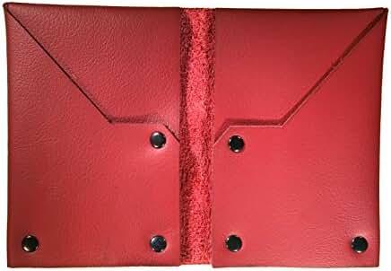 NIC GIOR Edge Slim Riveted Italian Leather Wallet