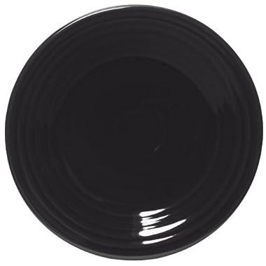 Fiesta 9-Inch Luncheon Plate, Black