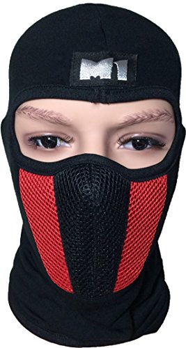 Skiing Winter Warm Stocking Cap Knit Face Mask - 7