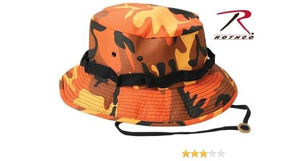 Amazon.com  Boonie Hat - SAVAGE ORANGE (7 3 4)  Military Apparel  Accessories  Clothing b4eb03b2d9f