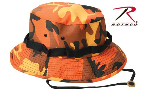 4caa803f5d56f Amazon.com  Boonie Hat - SAVAGE ORANGE (7 3 4)  Military Apparel ...