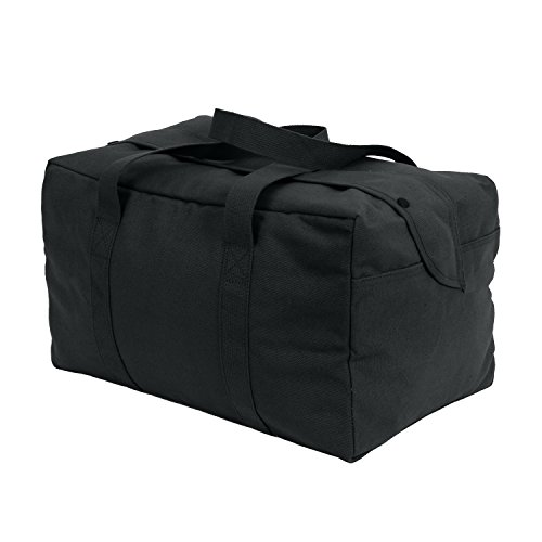 Black Parachute Cargo Bag 19