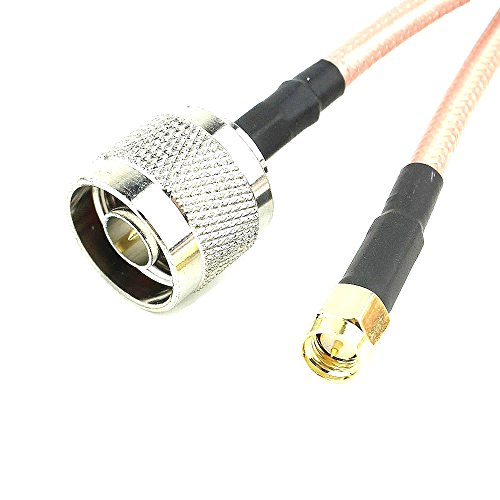 - OdiySurveil(TM 1M RF Type-N Male to SMA Male WLAN Antenna Extension Coaxial Cable,39'',RG316