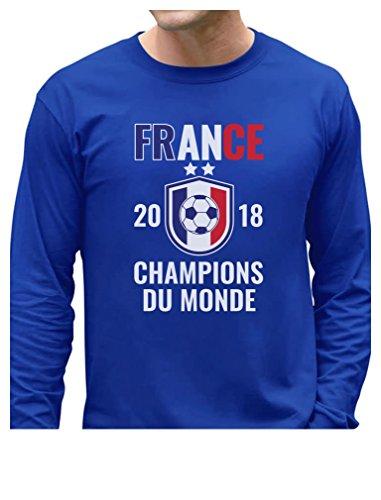 France 2018 Champions Soccer Team Fans National Team Long Sleeve T-Shirt