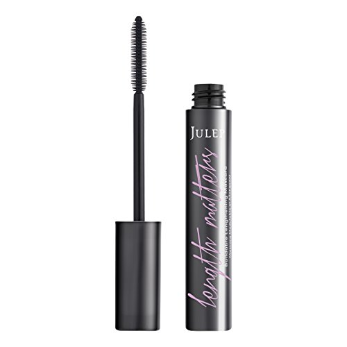 Julep Length Matters Buildable, Lengthening Mascara, Black, 0.34 ounces