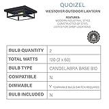 Quoizel WVR1612EK Westover Modern Industrial