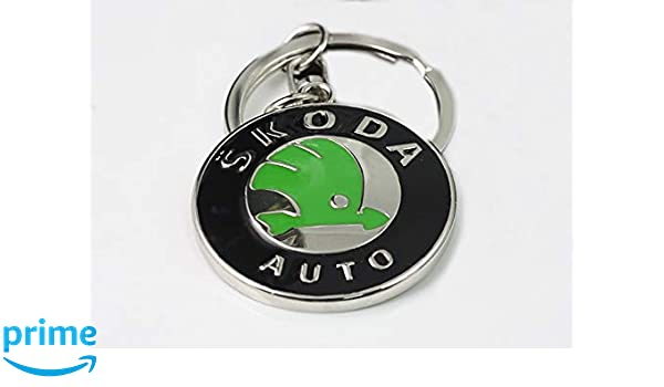 Double sided Car Logo Keychain 3D Chrome Metal Car key Chain keyring With Logo