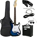 "ZENY 39"" Full Size Electric Guitar with Amp, Case"
